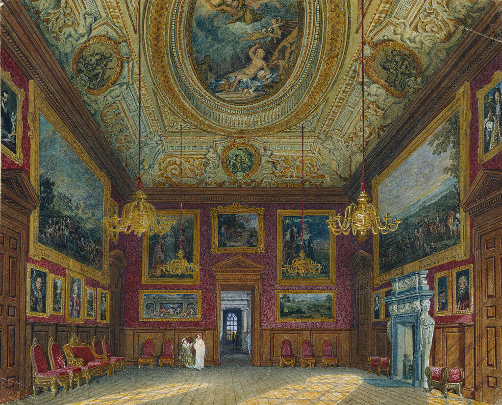 Kensington Palace: The King's Great Drawing Room  c.1816