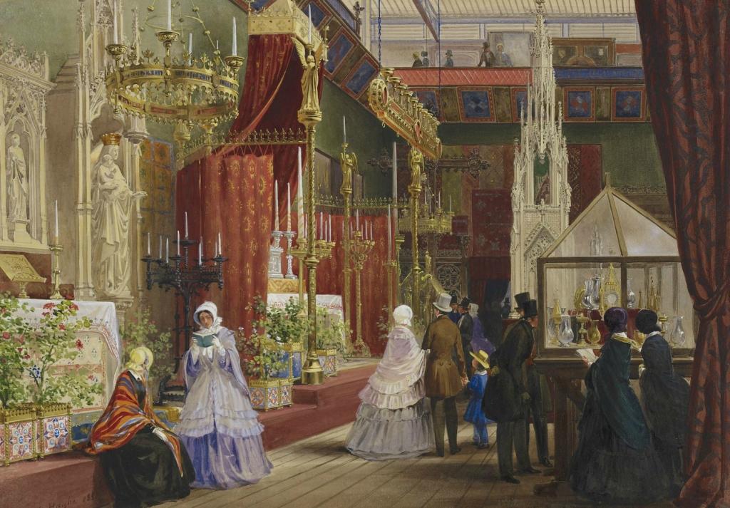 Великая выставка: Средневековый суд  от 1 851