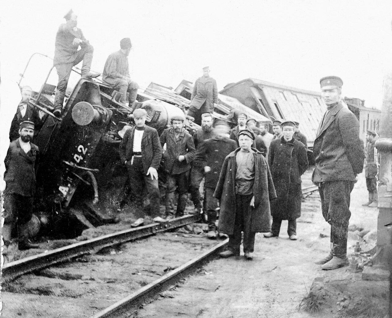 Крушение поезда. Разъезд Хребет, 8 сентября 1906 г.