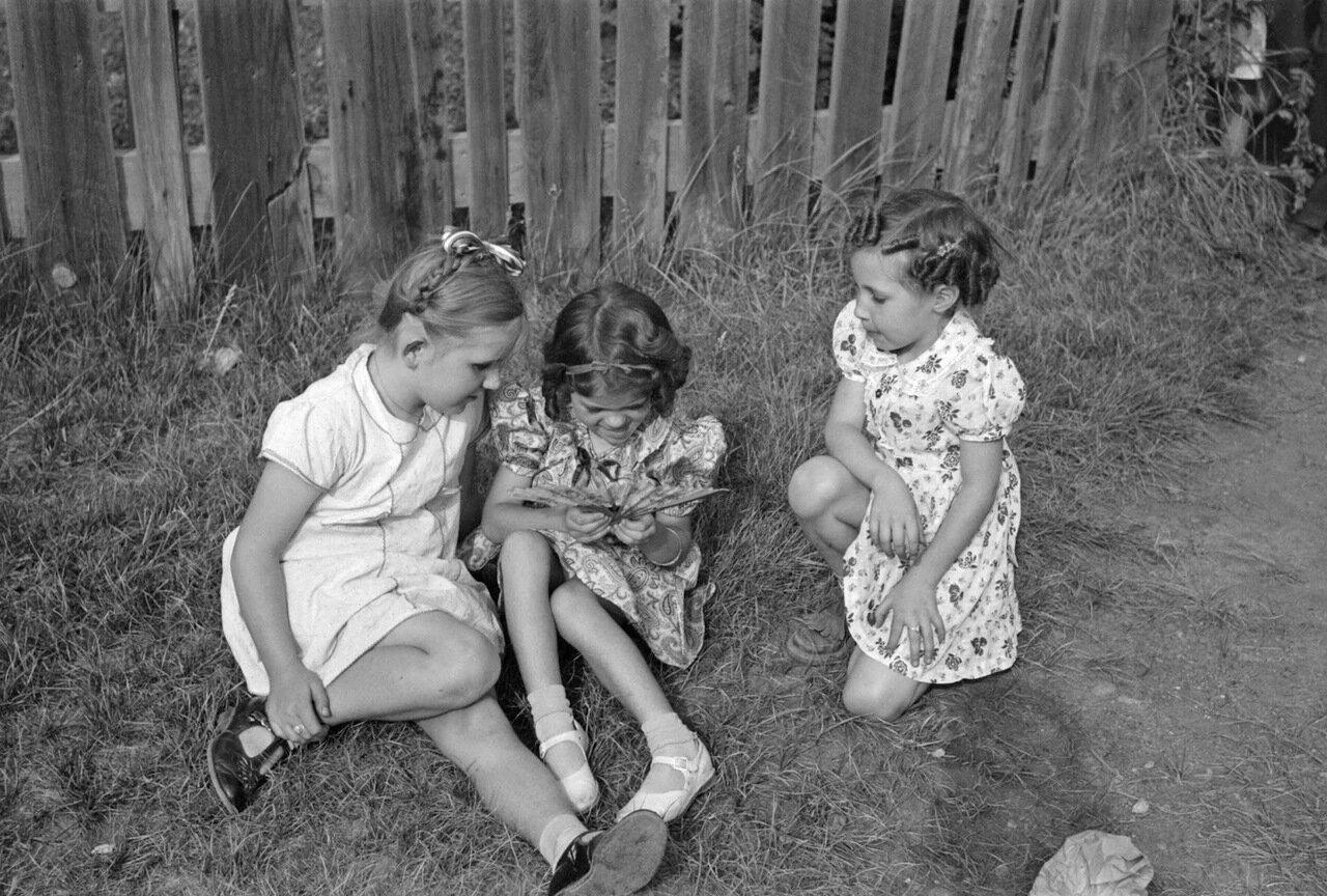 Дети шахтеров, Сильвертон, Колорадо, 1940