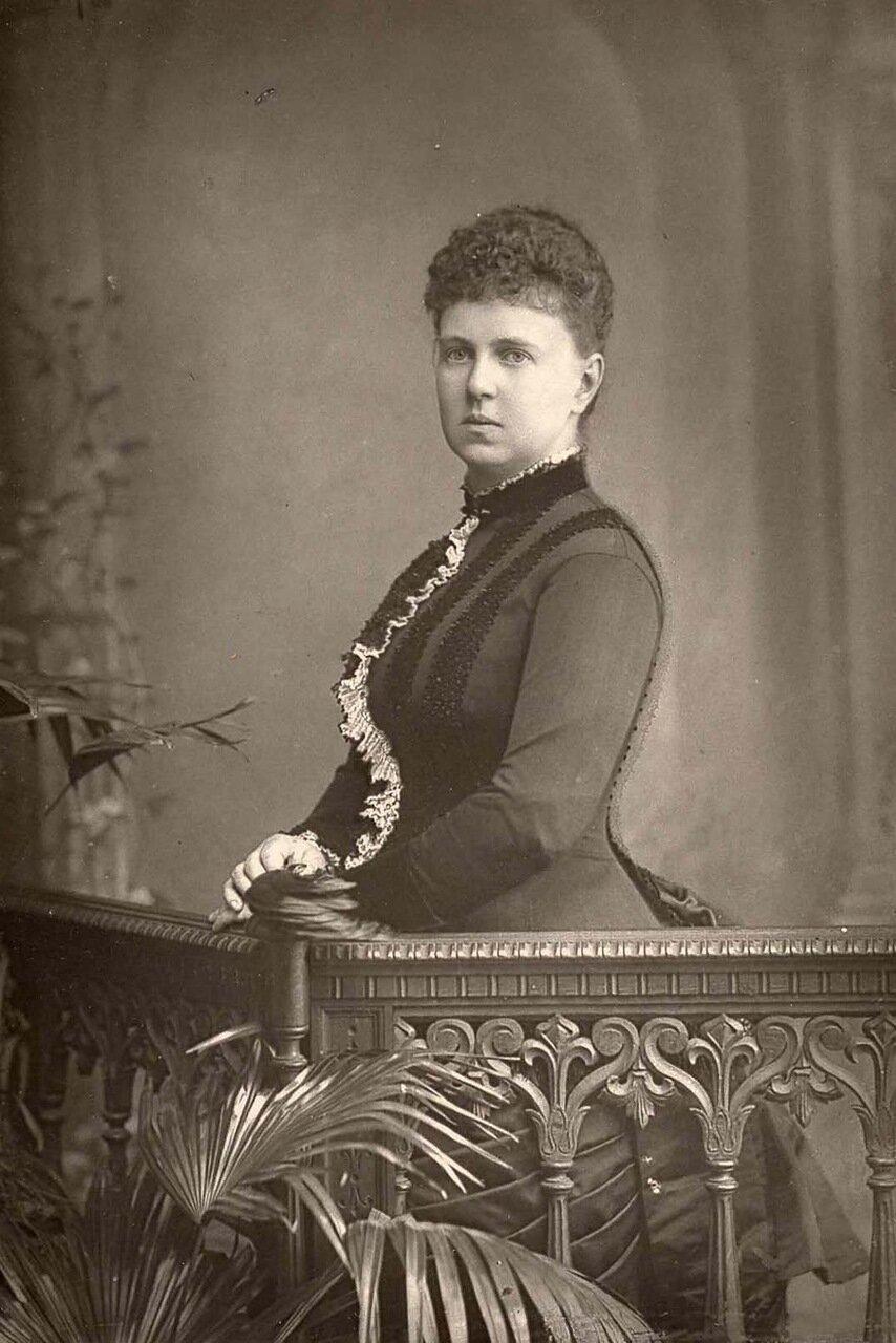 Великая княгиня  Мария Александровна. 1853-1920. Дочь царя Александра II