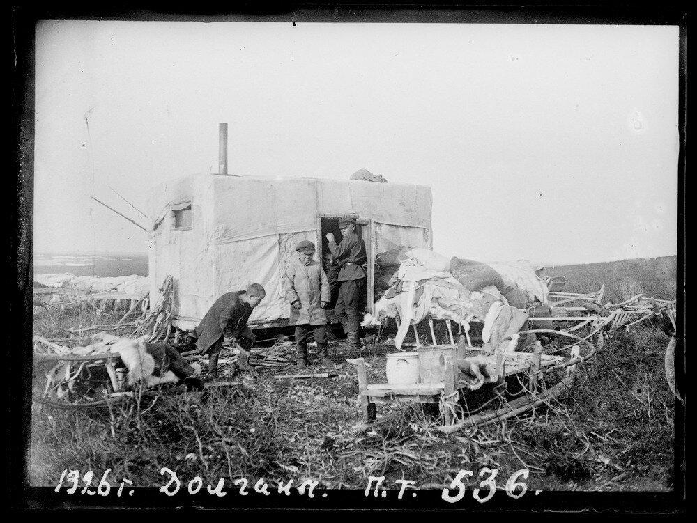 1926. Долганы. Таймыр