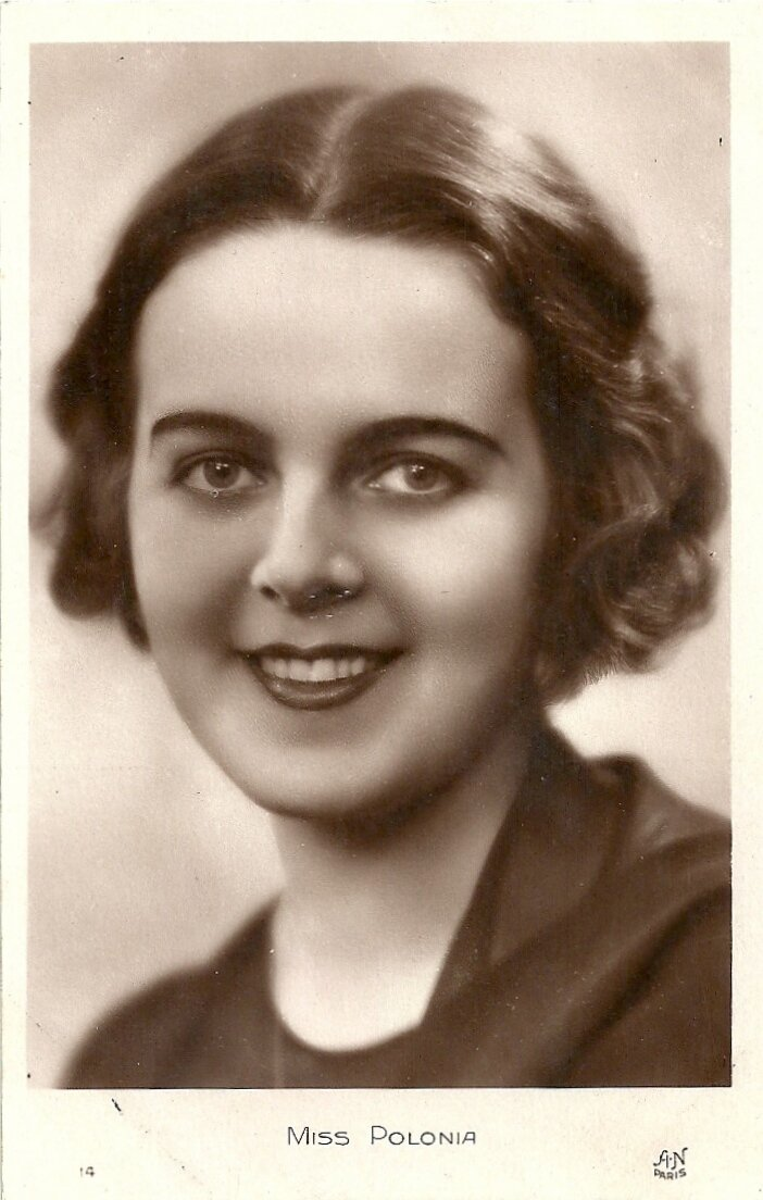 Мисс Польша. Софья Батыцкая (22 августа 1907 Львов - 9 июля, 1989, Лос-Анджелес)