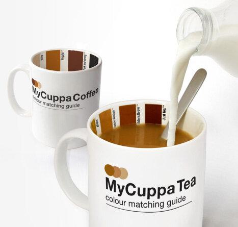 Кружка My Cuppa - больше не нужно заботиться о правильной пропорции молока в кофе