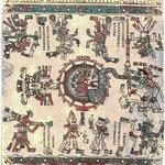 Изображения планет Солнечной системы. Ацтекский кодекс Лауд..jpg
