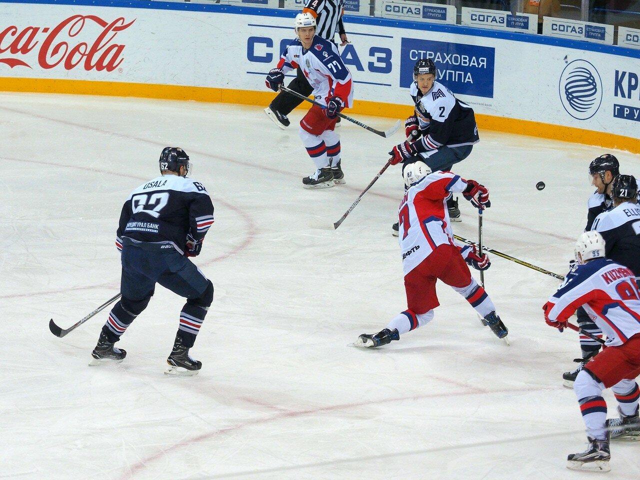 94 Металлург - ЦСКА 18.10.2017