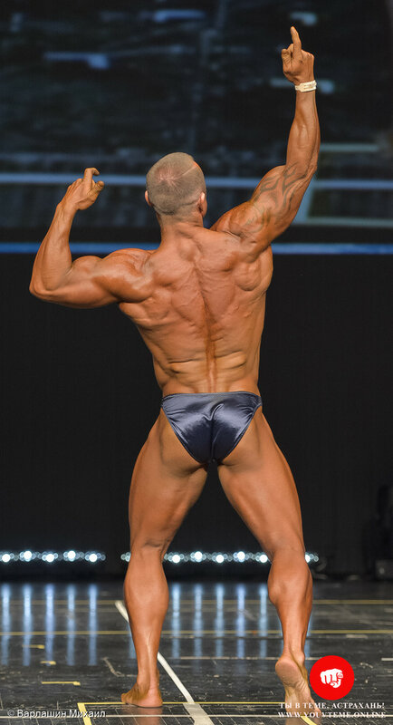 Категория: Мастера-мужчины 40-49 лет 90кг. Чемпионат и Первенство России по бодибилдингу 2017