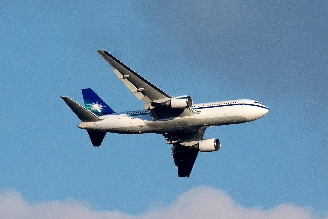 Boeing 767-2AX(ER). Saudi Aramco Aviation. N767A.