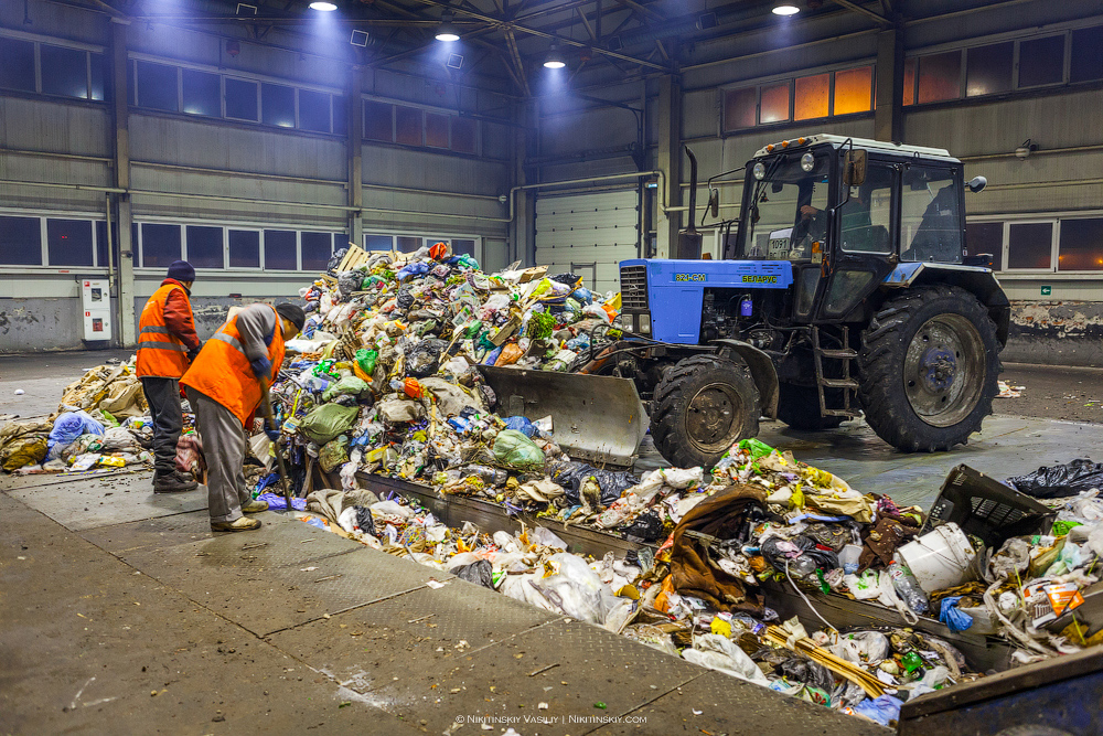 Как работает мусоросортировочный комплекс