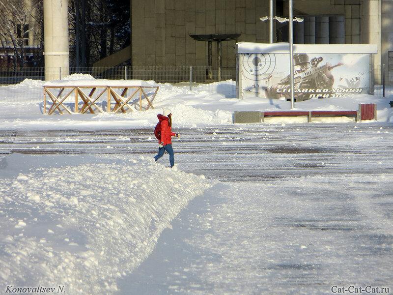 Ульяновск, зима 2018