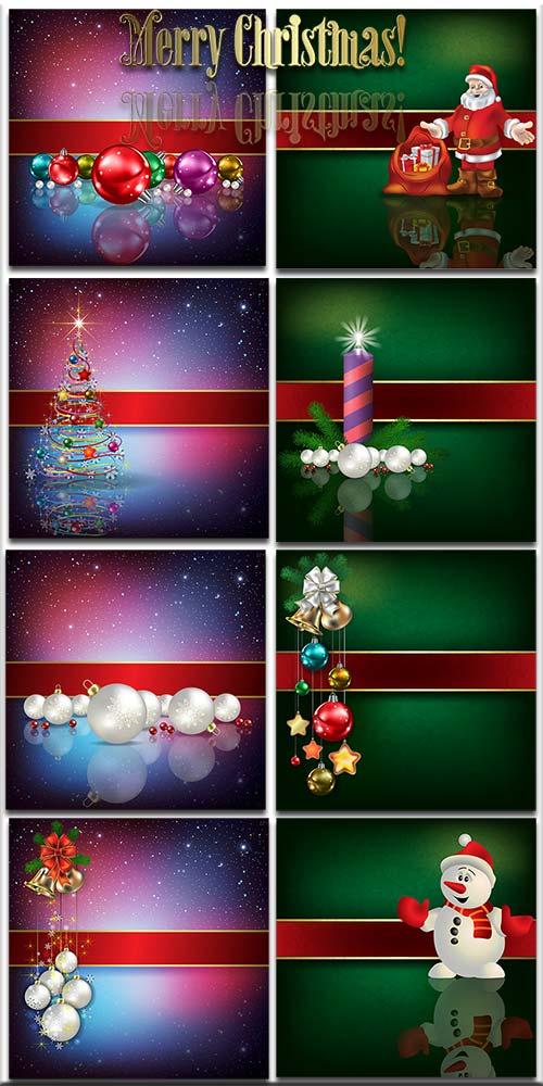 Новогодние фоны-Новогодние композиции.4 часть/Christmas backgrounds-Christmas composition.Part 4