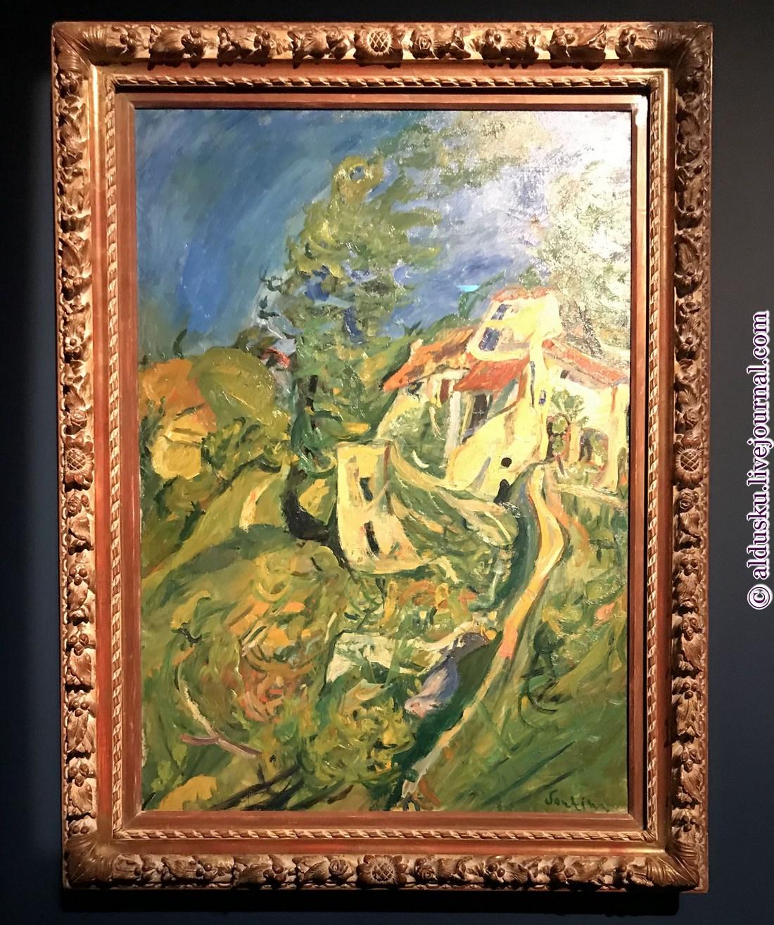 7. Пейзаж. Около 1922-1923. Музей Оранжери.