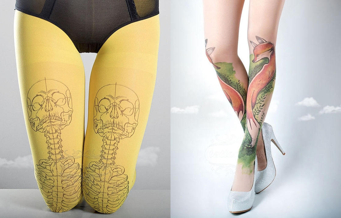 TattooSocks – Having pretty decorated legs without getting tattoos (20 pics)