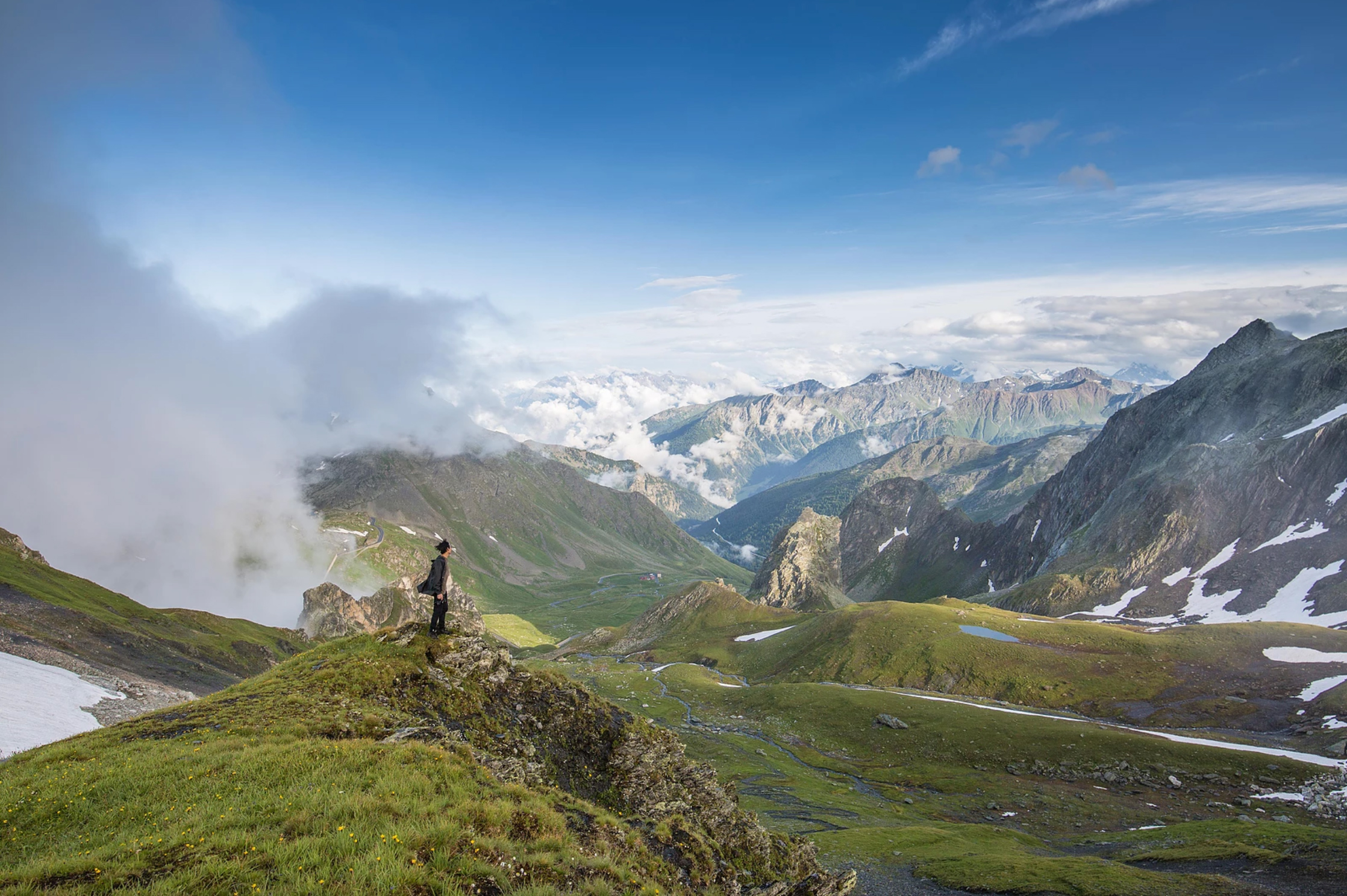Magnificent and Sweeping Views of the Alps