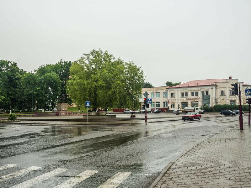 Следующий день — дождь в Большой Берестовице.