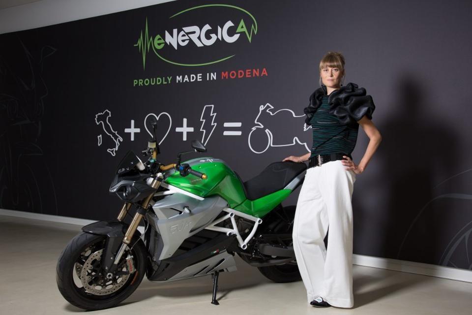 Ливия Чеволини - генеральный директор Energica Motor