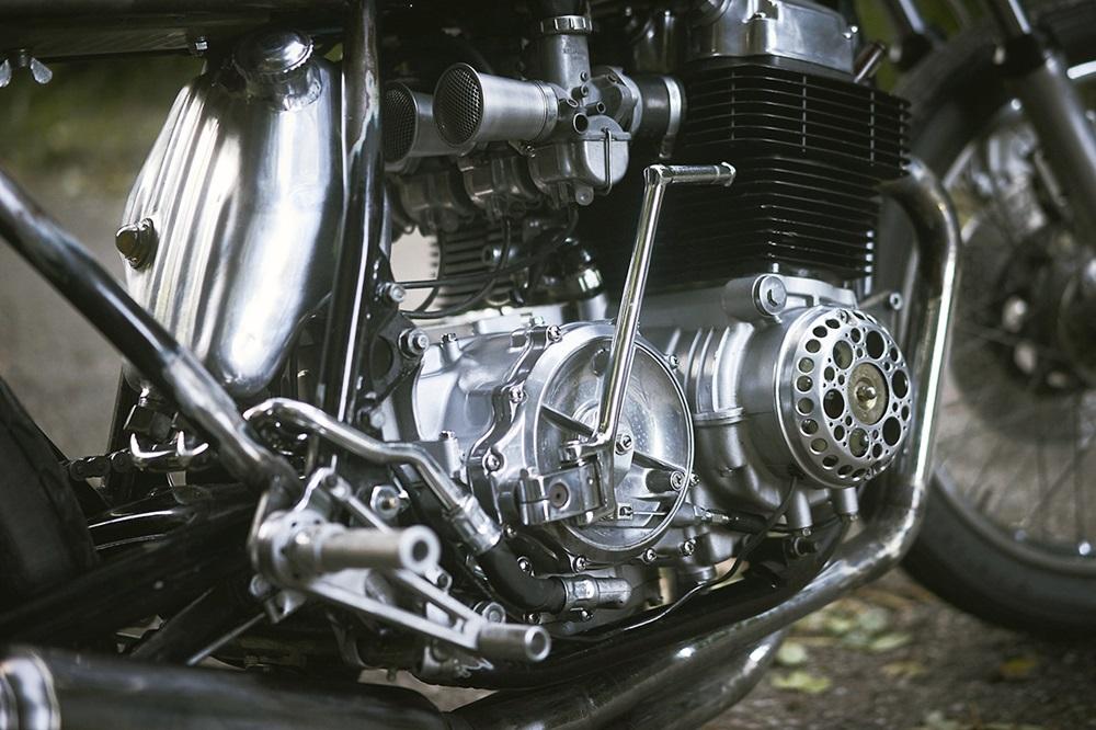 Megerle MetalWorks: кафе рейсер Honda CB750 K2