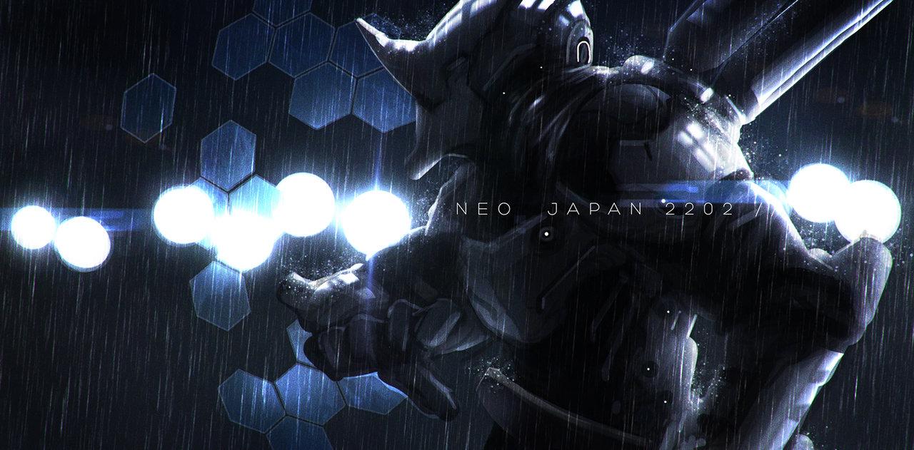 Джонсон Тинг. Нео Япония 2202.