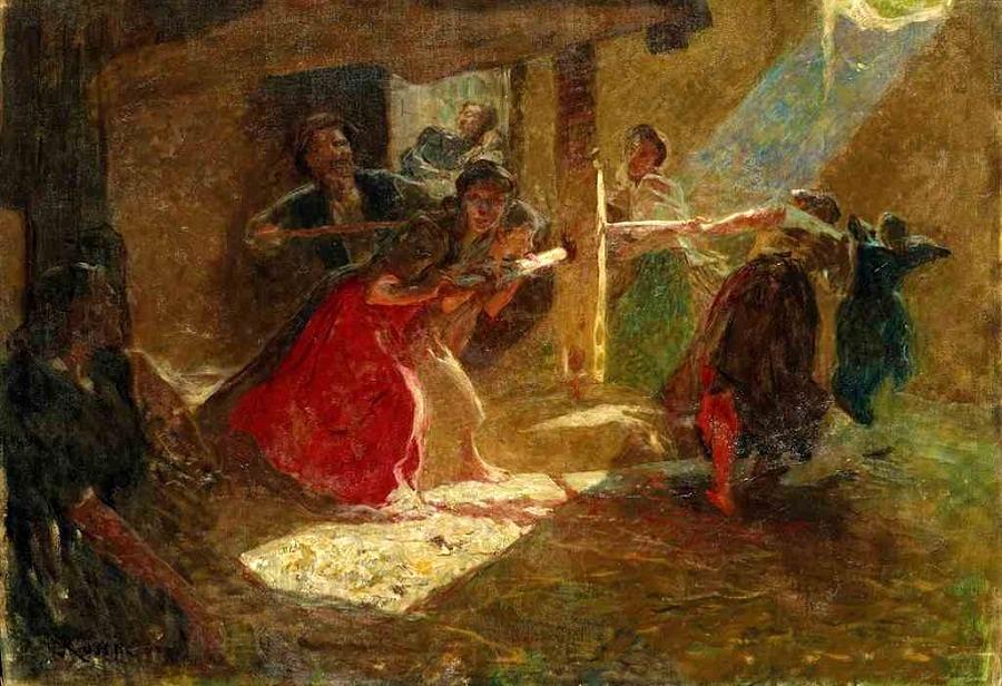 Il mosto , 1898