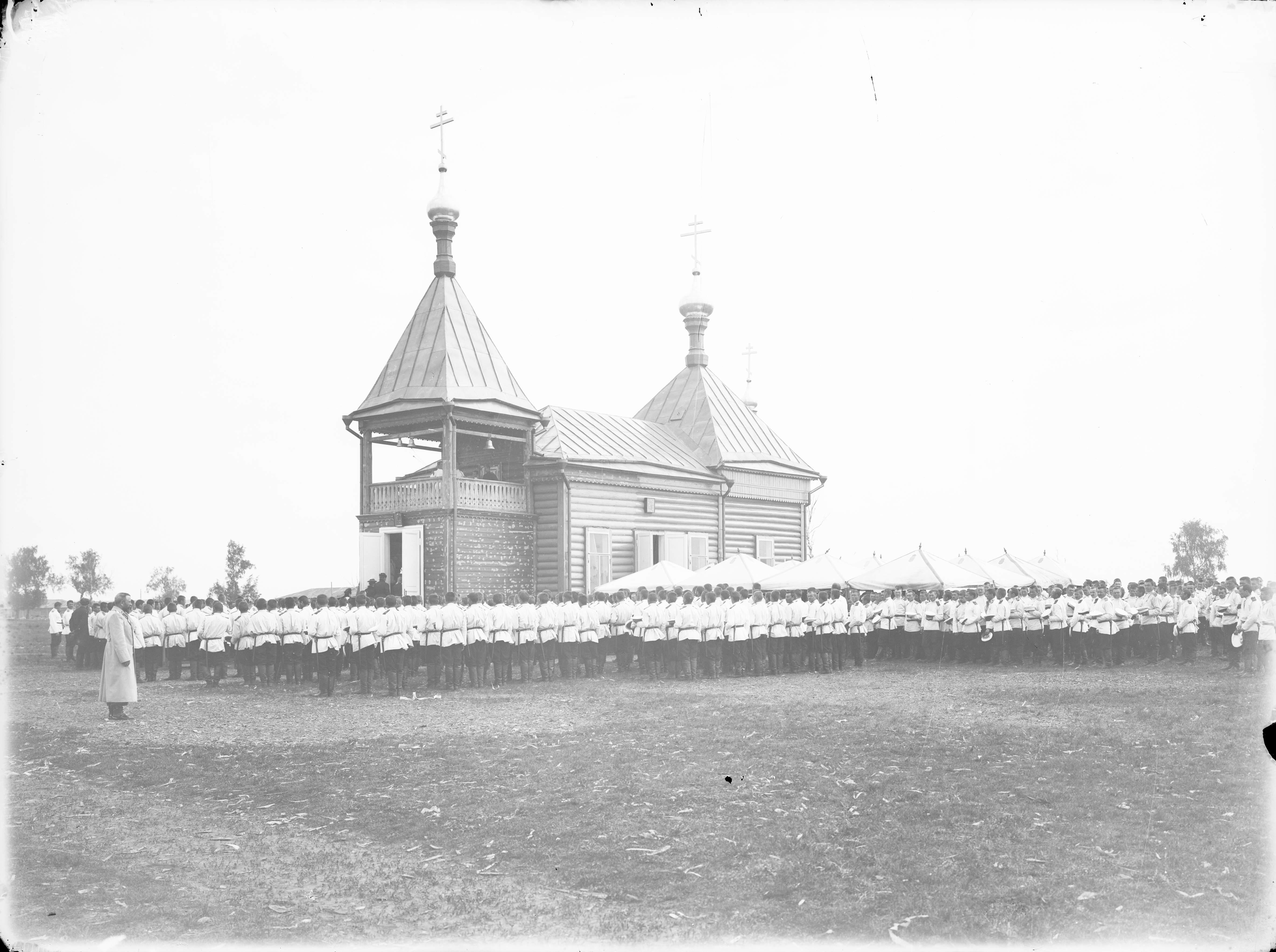 Смотр войск Нижегородского гарнизона