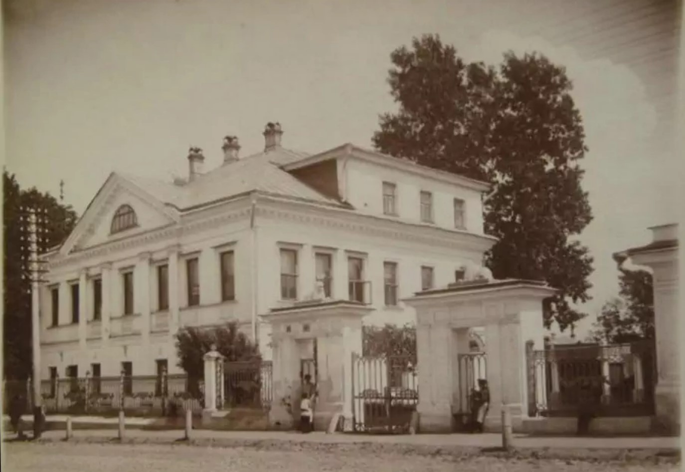 Дом Рябининой. 1910