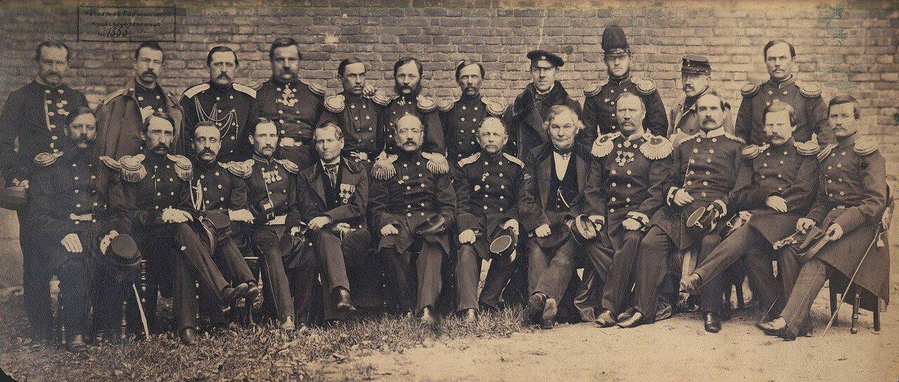 1862. Группа учителей и воспитателей Нижегородского Кадетского корпуса