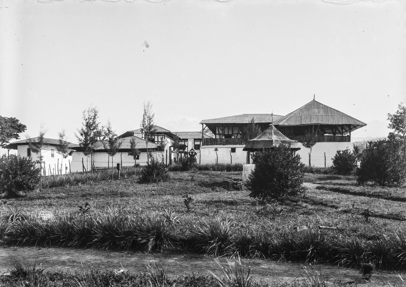 123. Станция немецкого общества Восточной Африки (ДОАГ) в Моши