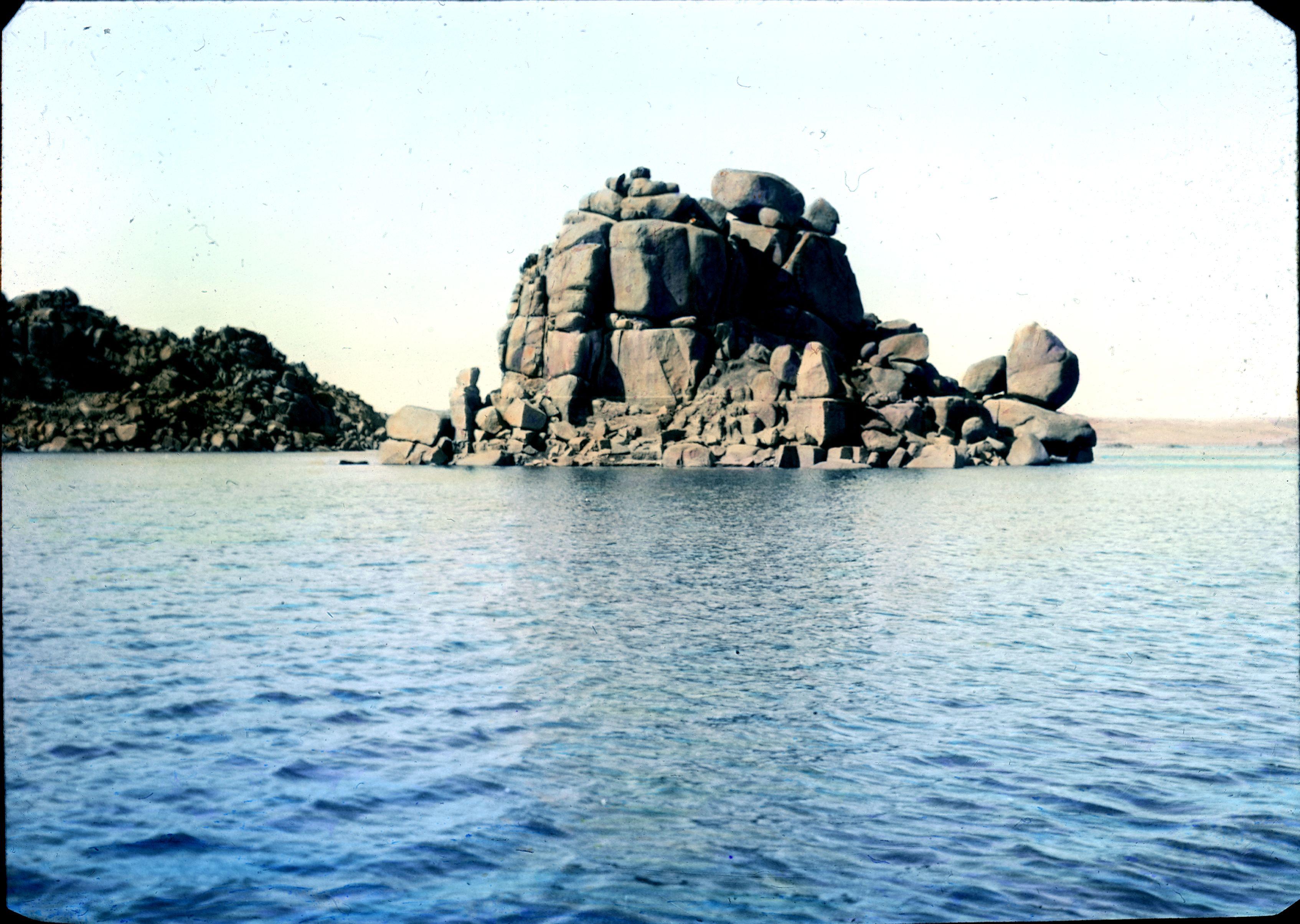 Ассуан. Древние развалины