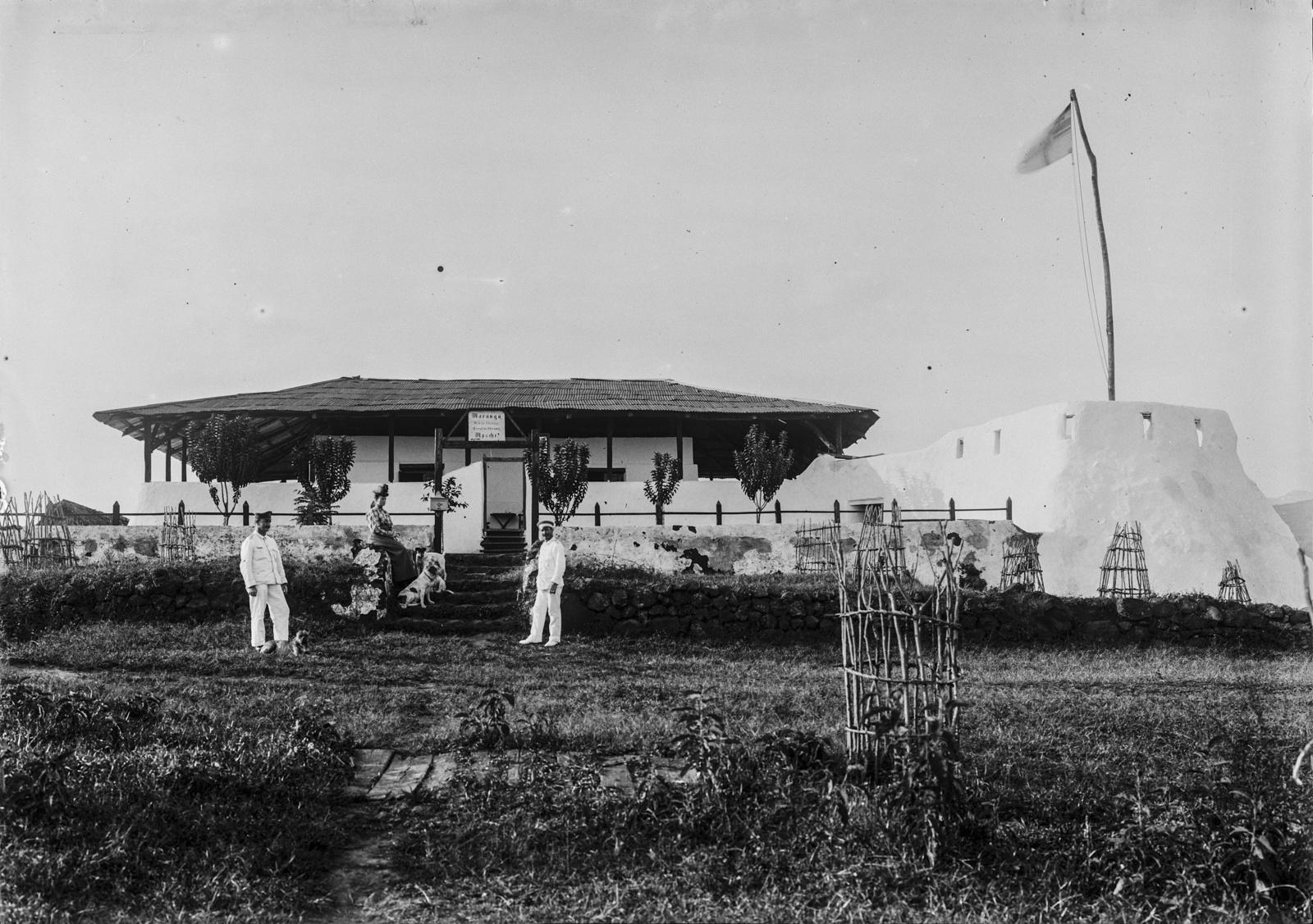 156. Станция немецкого общества Восточной Африки (ДОАГ) в Марангу