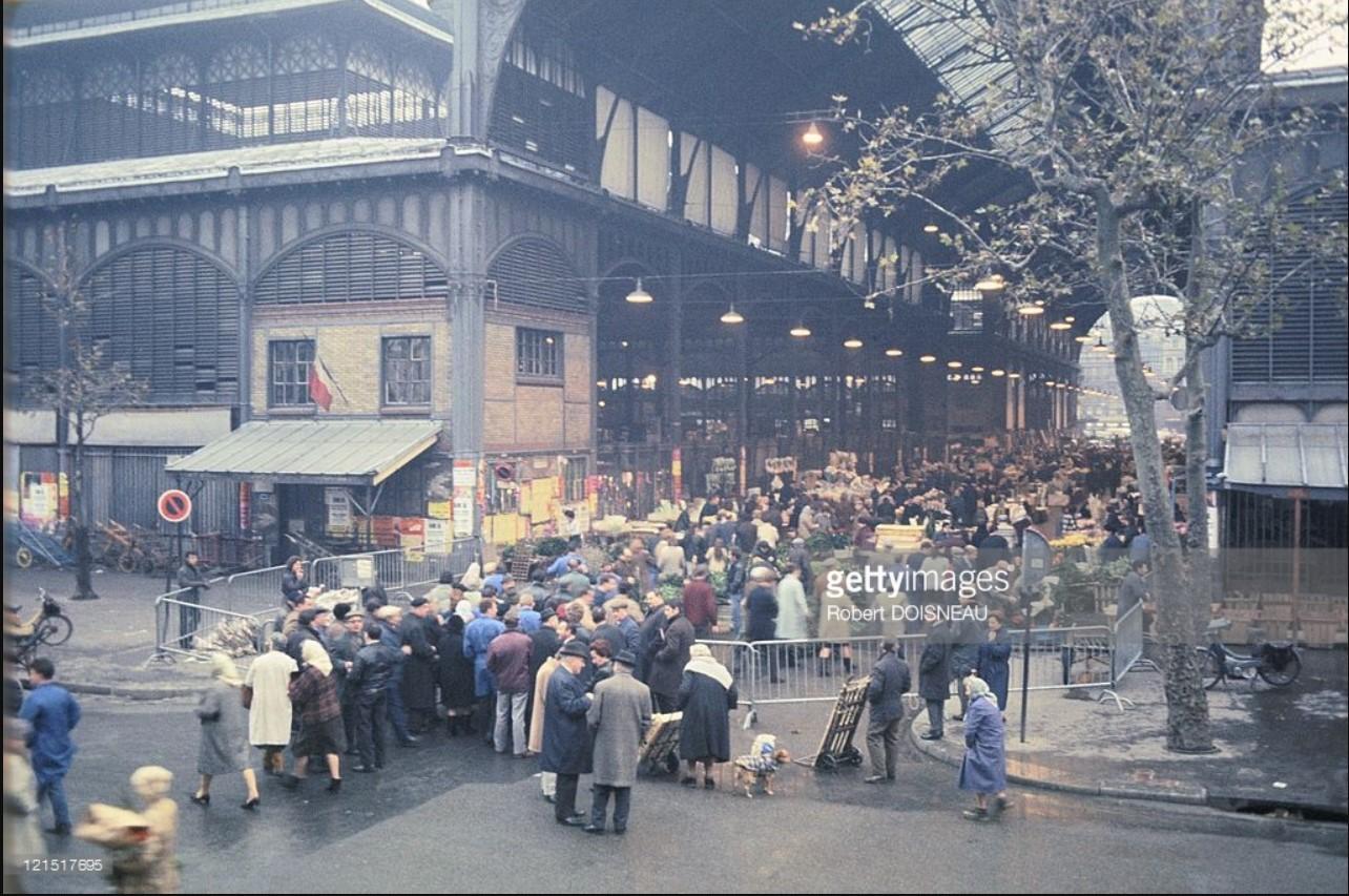 1968. Толпа в Ле-Аль