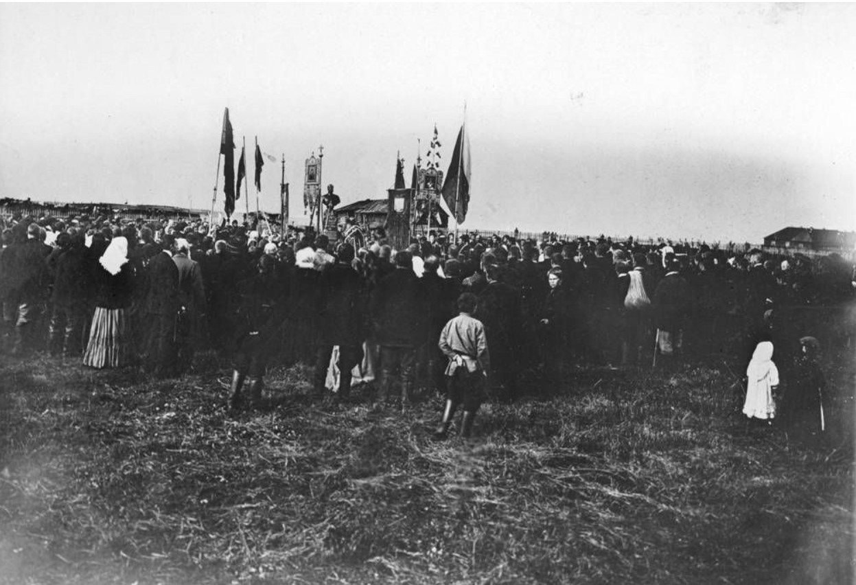 Открытие памятника императору Александру II