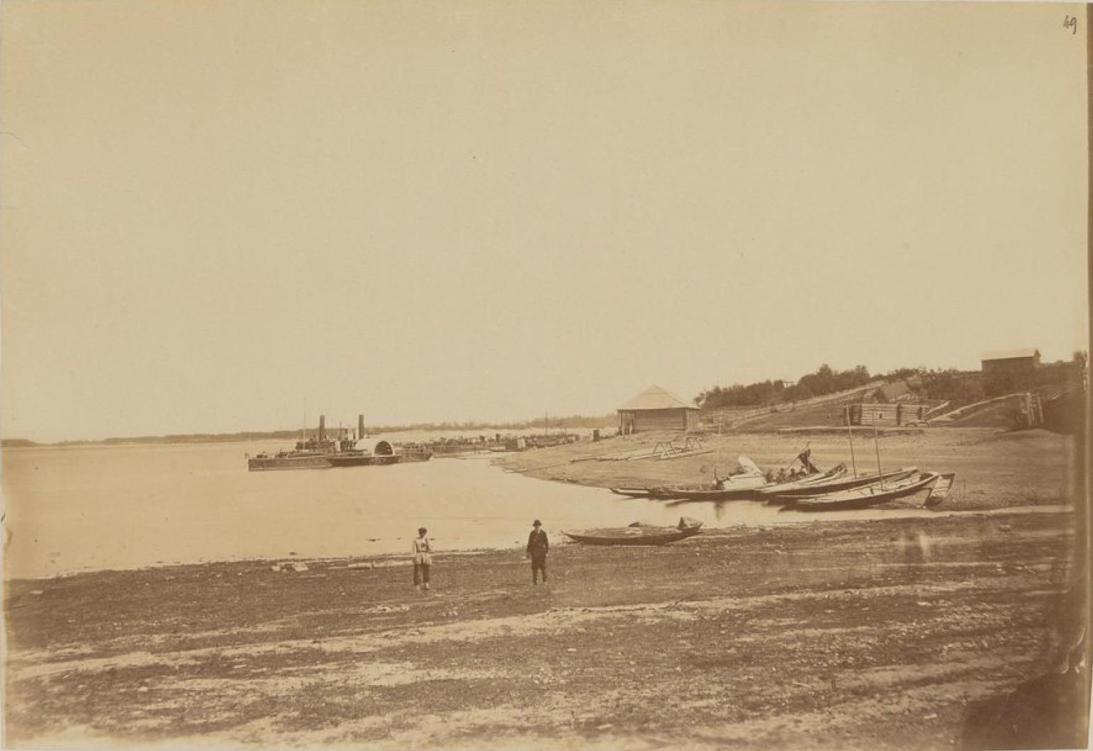 Пристань возле Софийска