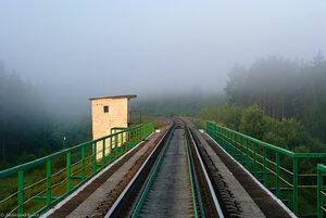 Мост через р. Угра, перегон Волоста-Пятница - Угра