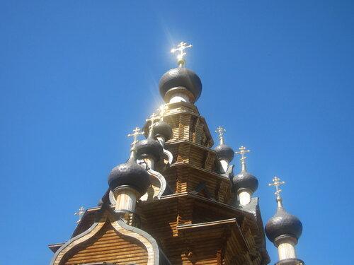 Церковь вВерхней Санарке