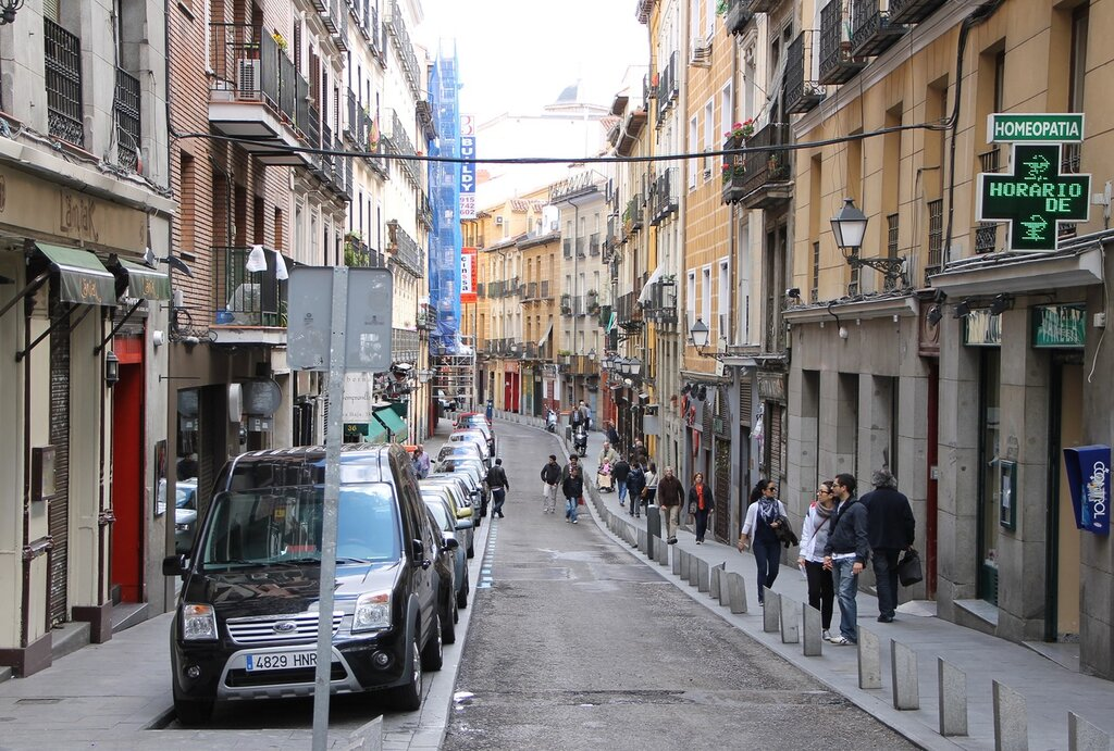 Мадрид. Кава Баха (Calle Cava Baja)