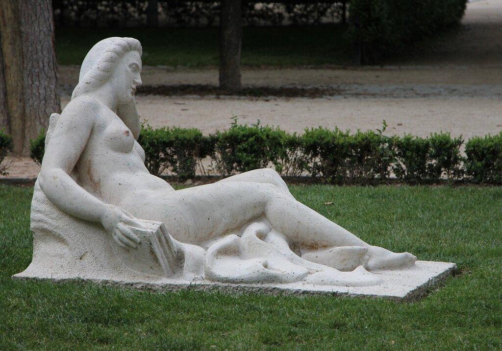 Мадрид. Парк Буэн-Ретиро. Площадь Партер (Plaza Parterre)