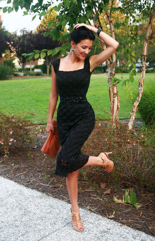 платье спицы