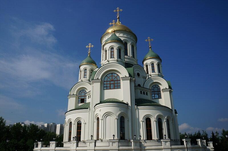 Храм преподобного Сергия Радонежского в Солнцево. Строительство храма завершено в 2011 году