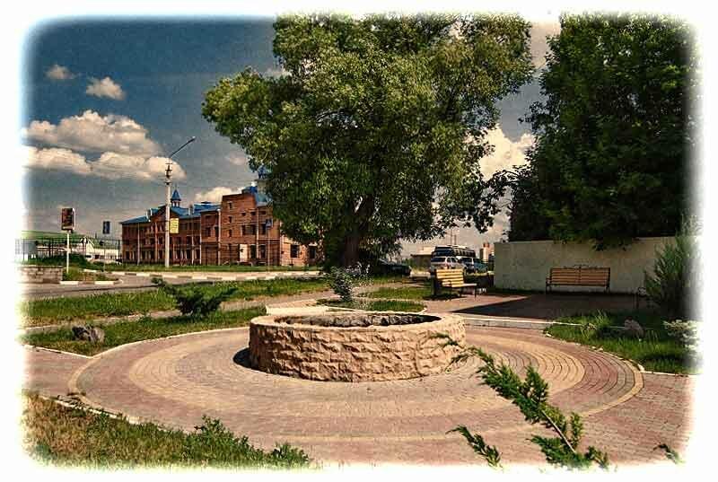 Кошарский фонтан, у здания Белгородстроймонтаж