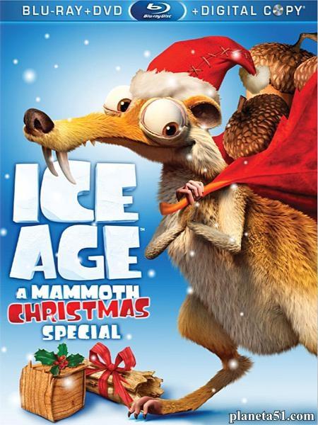Ледниковый период: Гигантское Рождество / Ice Age: A Mammoth Christmas (2011/HDRip)