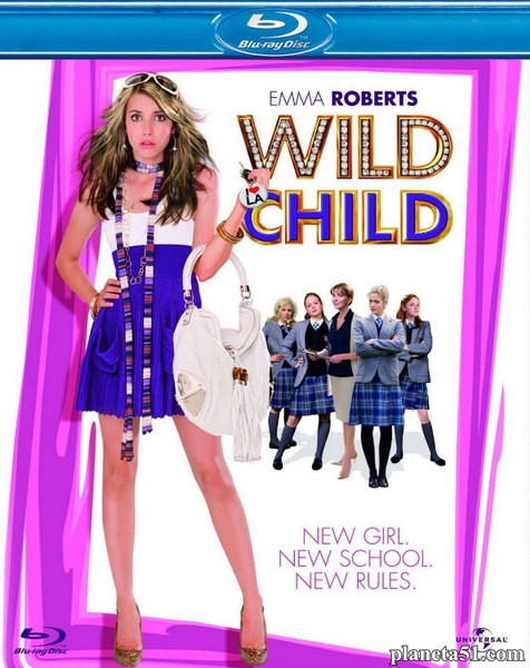 Оторва / Wild Child (2008/HDRip)