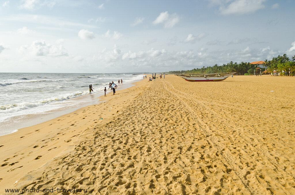 Пляжный отдых в Шри-Ланке. Пляж Негомбо (Negombo Beach). Сколько взять денег в отпуск.