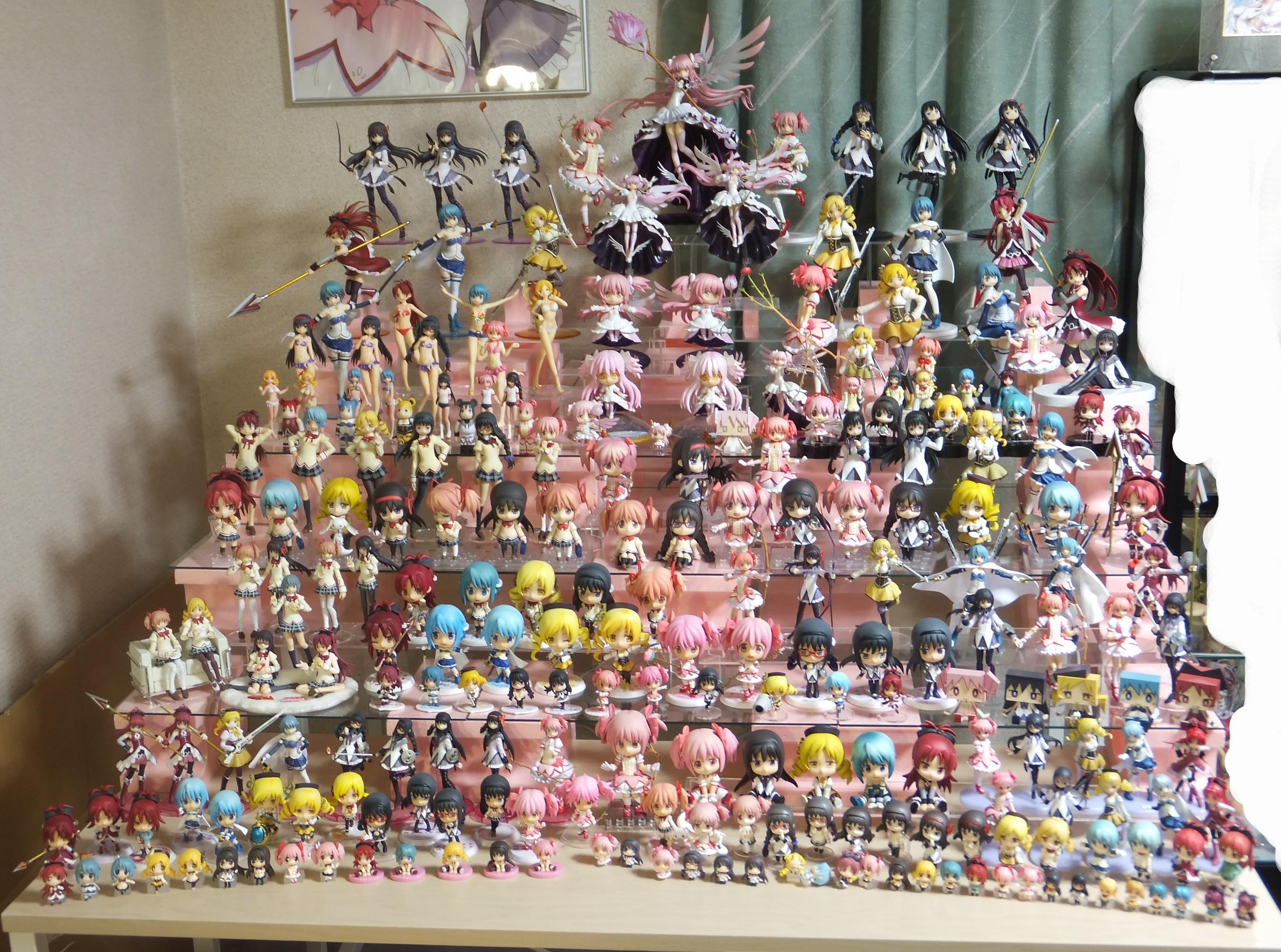 Девочка-волшебница Мадока Магика, аниме 2011, Mahou Shoujo Madoka Magica, фигурки, больные отаку