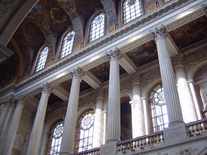 (旅游天地)法国凡尔赛宫(法文:Chateau de Versailles)1 - 清风细雨 - 清风细雨