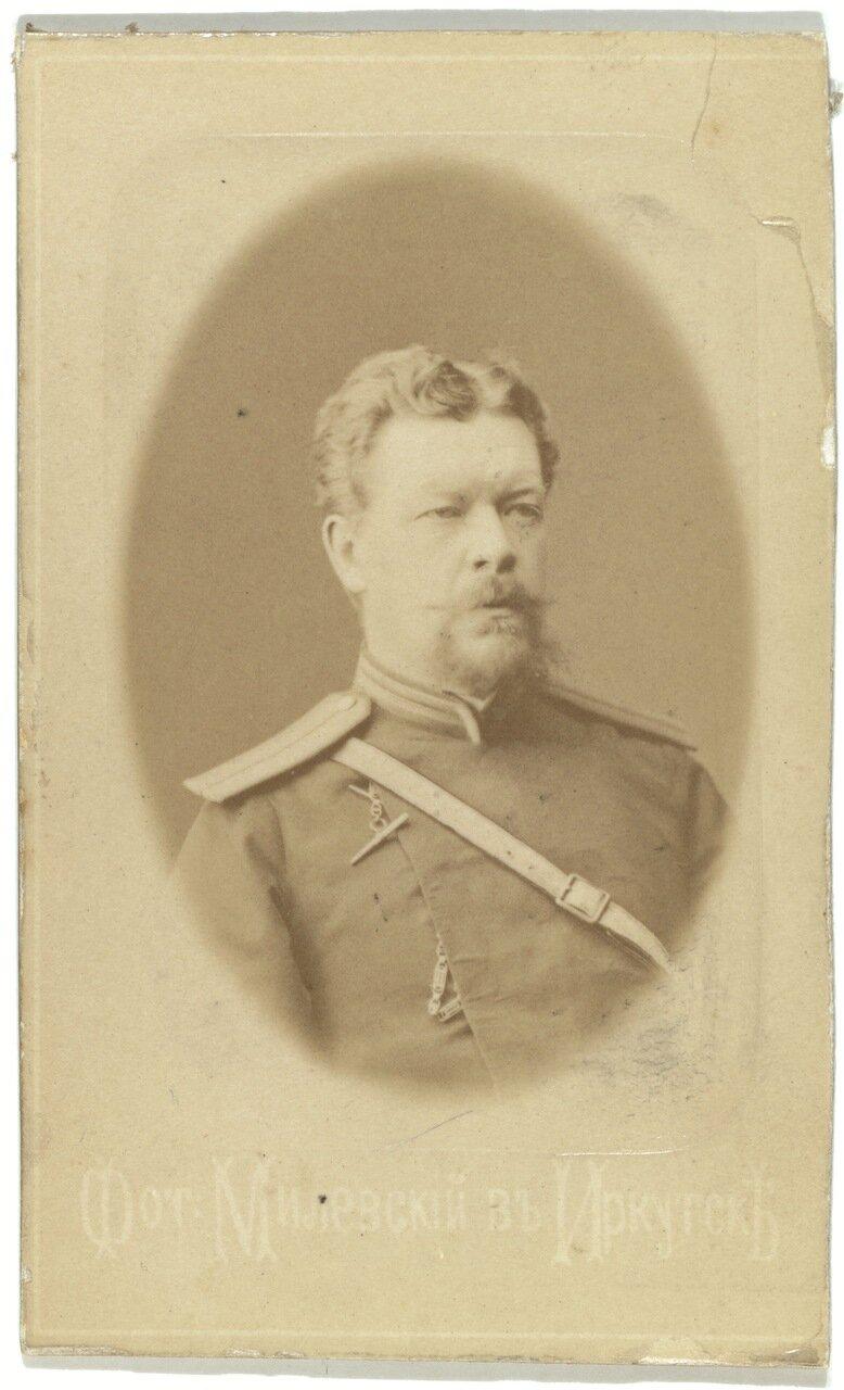 Начальник тюрьмы в Иркутске Александр Синянин.
