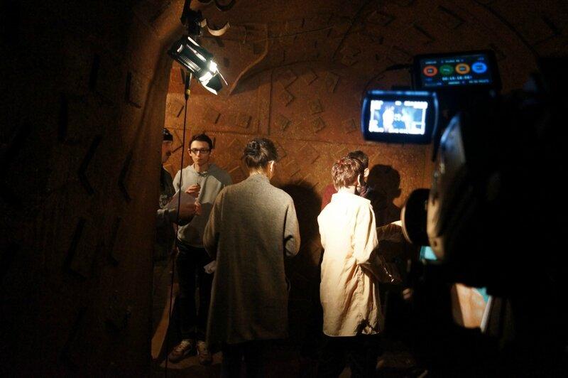 Съемка фильма в Бункере-42