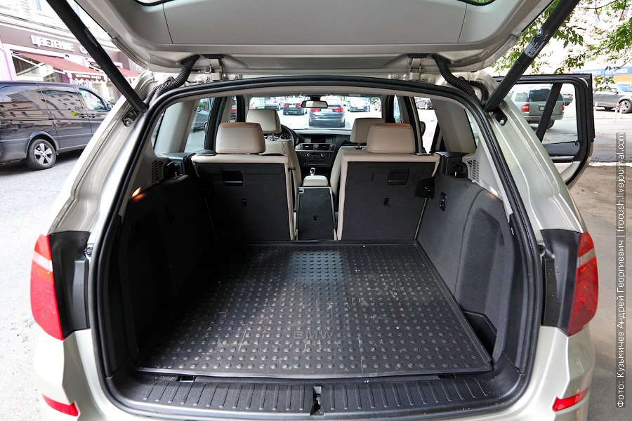 BMW X3 xDrive30d вид сзади