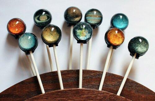 Какая вкусная солнечная система!