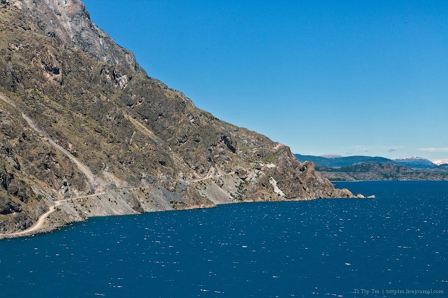 13. Лазурь и мрамор озера Буэнос Айрес - Хенераль Каррера.