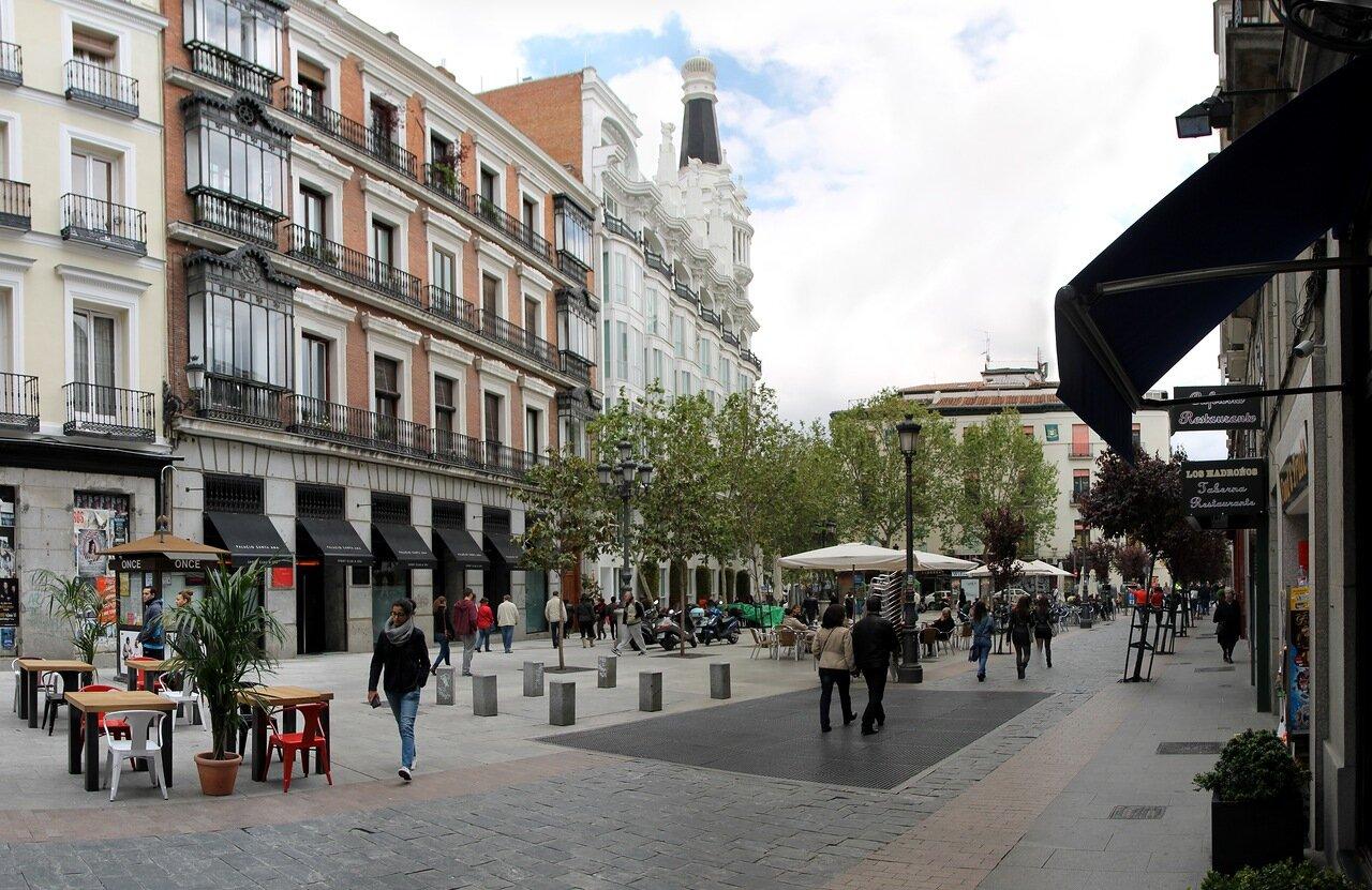 Мадрид. Площадь Ангела (Plaza del Angel)
